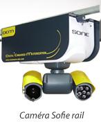 la caméra Sofie montée sur rail pour la surveillance du troupeau