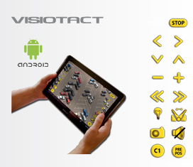 application de videosurveillance a distance :visiotact pour android